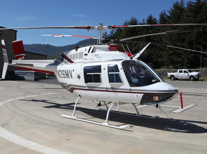 1989 Bell 206 B3, S/N: 4052, R/N: N26MV